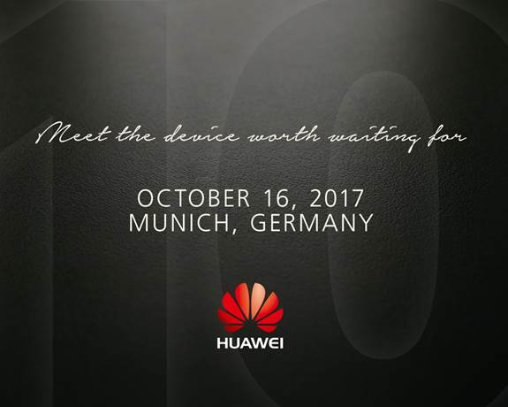 Huawei Mate 10 reveal Germany invite - هواوي ترسل الدعوات الرسمية  لمؤتمرها الدعائى الخاص ب هاتف Mate 10 الجديد