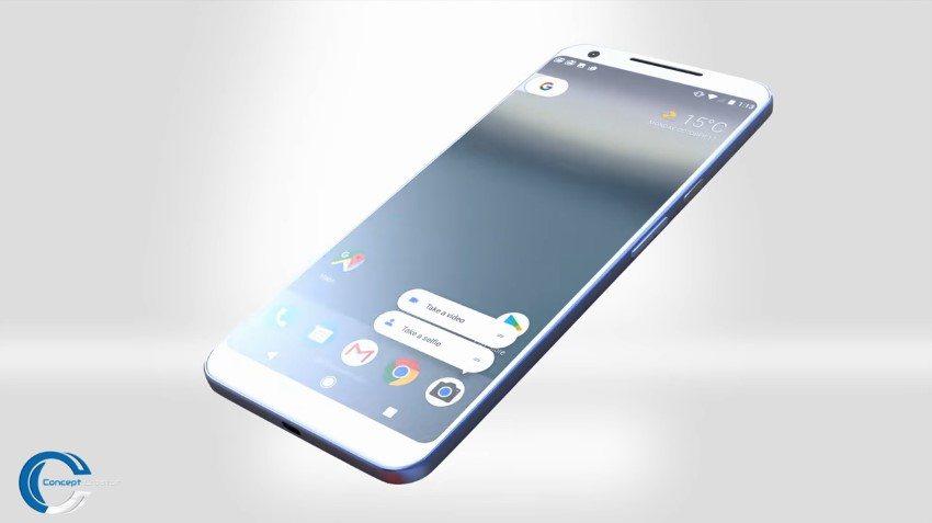 Google Pixel 2 XL Concept 1 - بالفيديو: إطلاق هاتف Pixel 2 يوم 4 أكتوبر المقبل