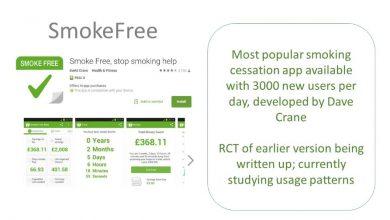 تطبيق Smoke Free