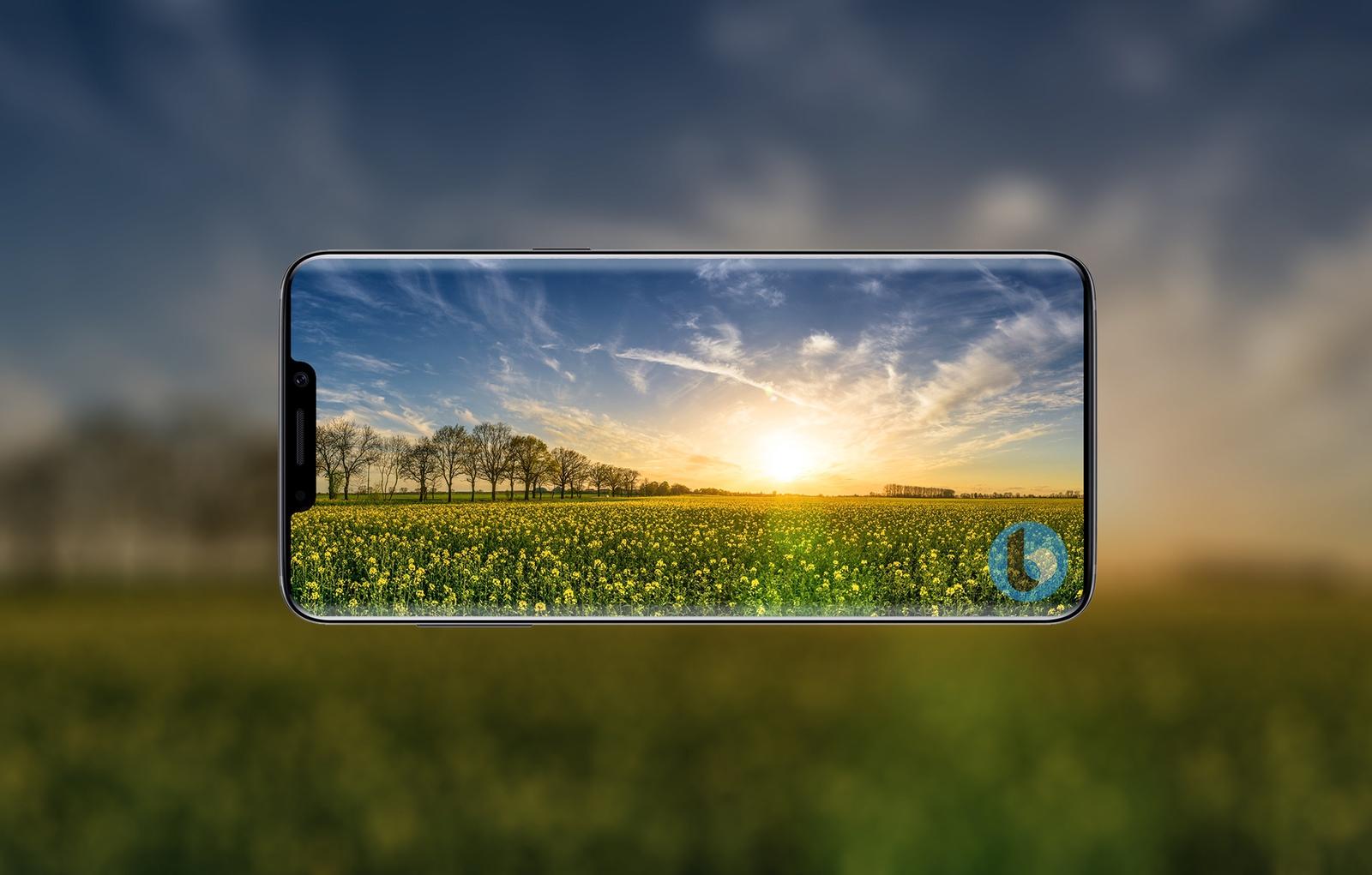"Samsung Patent Leak April 2018 Ben Geskin 05 - تعرف على كيف سيبدو النتوء على شاشة جوال سامسونج القادم ""جالكسي S10"""