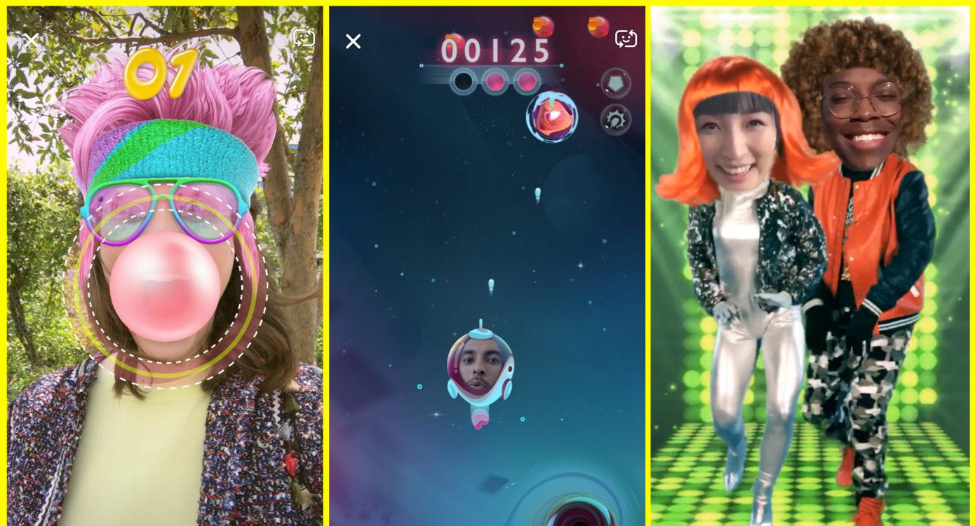 snappables games - سناب شات تعلن عن تدشين Snappables للعب بتقنية الواقع المعزز