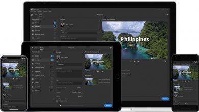 One Click Publish to Social 1024x575 390x220 - أدوبي تطلق تطبيق مذهل متكامل لتحرير الفيديو Project Rush