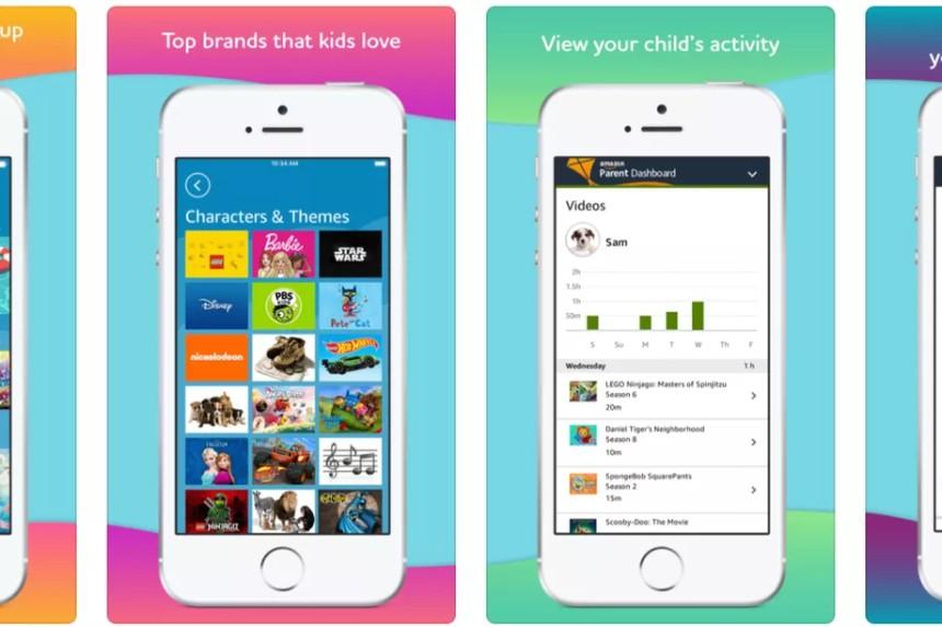 amazon free time.0 - أمازون تطلق تطبيقها المميز الترفيهي للأطفال على أجهزة أندرويد وأبل