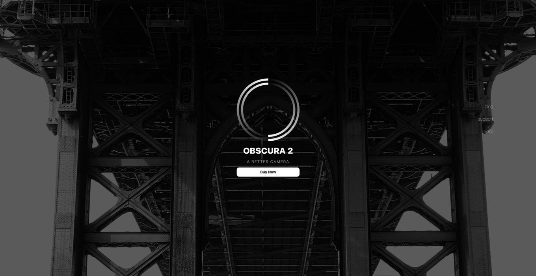 Obscura 2 - إصدار نسخة خاصة لتطبيق Obscura 2 الحائز على جائزة أفضل تطبيق كاميرا لأجهزة iPad