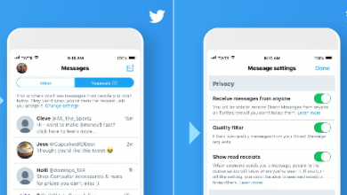 Screenshot 2018 08 23 Twitter on Twitter 390x220 - تويتر تطلق تحديث جديد لخاصية الرسائل تتيح طلبات الرسائل للغير متابَعين