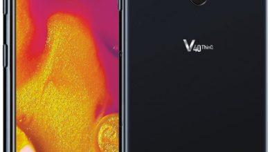 DoAWGuTXoAE0fnP 390x220 - صور مسربة رسمية لهاتف LG V40 ThinQ تكشف مواصفاته مع 5 كاميرات