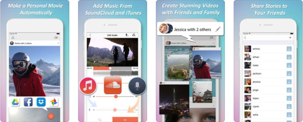 Screenshot 18 - تحميل التطبيق المميز Action - Automatic Movie Maker لتحرير فيديوهاتك بإحترافية