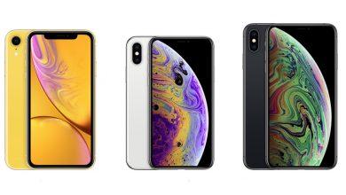 iPhone XR vs iPhone XS vs iPhone XS Max 390x220 - حمّل خلفيات الفقاعات الرائعة لهواتف آيفون الجديدة XS وXS ماكس و XR