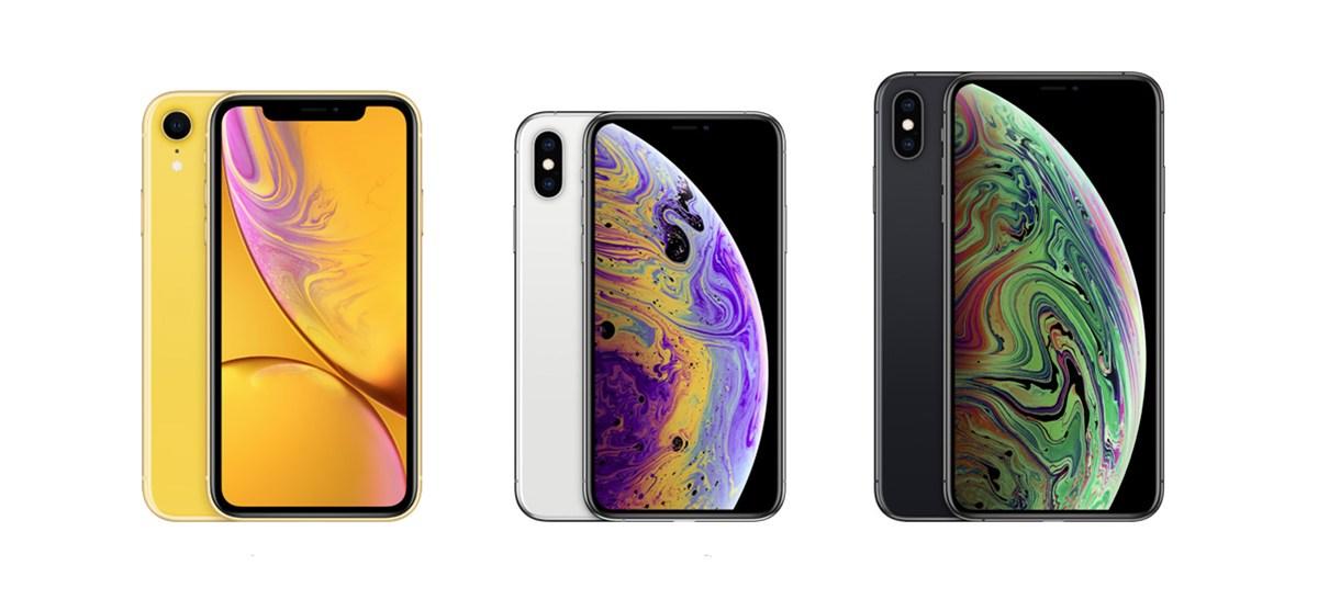 iPhone XR vs iPhone XS vs iPhone XS Max - حمّل خلفيات الفقاعات الرائعة لهواتف آيفون الجديدة XS وXS ماكس و XR