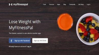 MyFitnessPal 1 390x220 - تطبيق MyFitnessPal يفيدك في حساب السعرات الحراريه لتخفيف وزنك