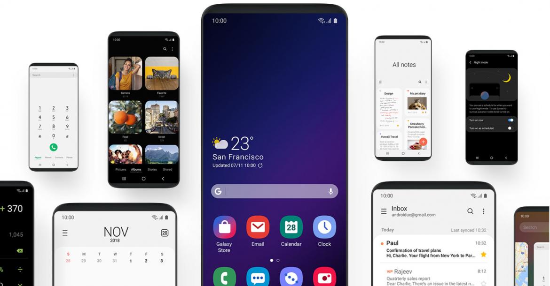 Samsung One UI 1170x610 - سامسونج تزيح الستار عن الواجهة الجديدة One UI لهواتفها