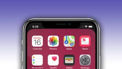 notcho main 390x220 - تطبيق Notcho لإخفاء النوتش الموجودة في جميع أجهزة آيفون الجديدة
