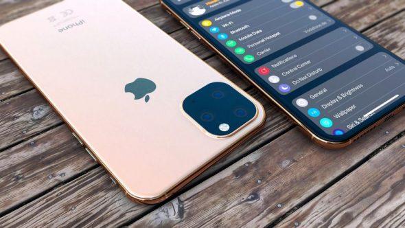 The iPhone 11 Max 3 590x332 - جوالات آيفون 11 الثلاثة تظهر في اللقطات الأكثر وضوحاً في مقطع فيديو جديد