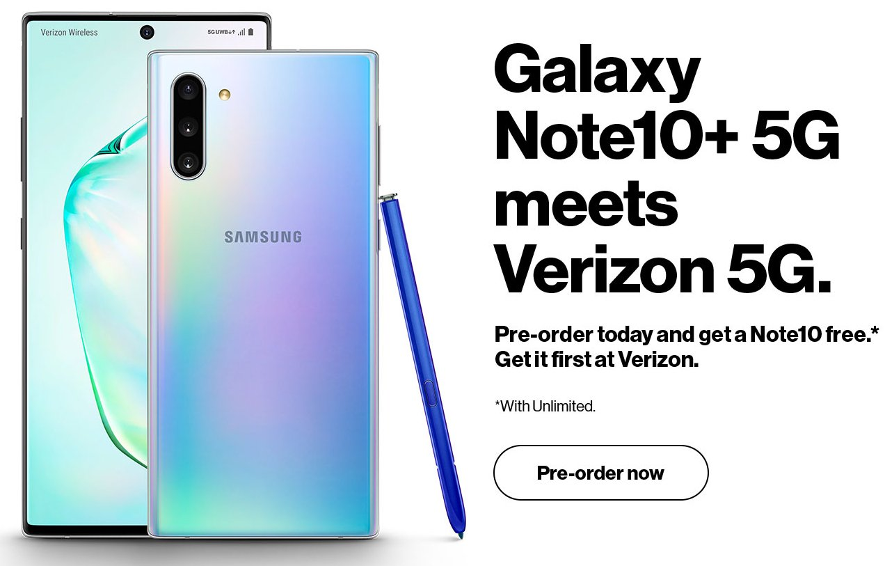 Galaxy Note 10 5G - سامسونج ستتيح شراء جوال جالكسي نوت 10+ 5G في هذا الموعد وبهذا السعر