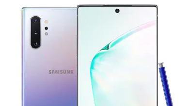 Samsung Galaxy Note 10 Plus 5G 1 390x220 - شاشة جوال سامسونج جالكسي نوت 10 بلس تحصل على تصنيف +A من DisplayMate