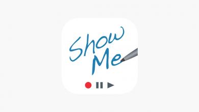 3 390x220 - تطبيق ShowMe Interactive Whiteboard لشرح الدروس بالصوت على سبورة تفاعلية