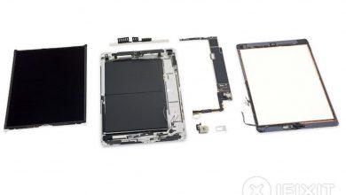 3 iFixit تقوم بتفكيك جهاز iPad 390x220 - تفكيك جهاز آيباد الجديد بقياس 10.2 يعطينا نظرة جيدة عن مكونات الآيباد الداخلية