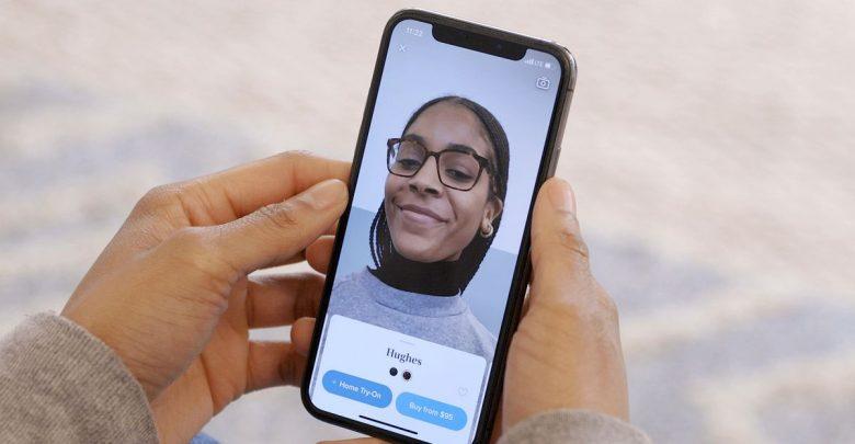 تطبيق Warby Parker