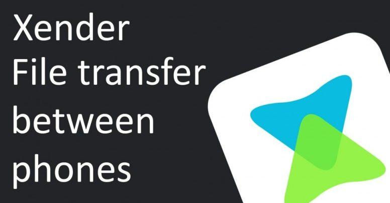 تطبيق Xender