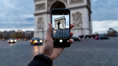 تطبيق كاميرا آيفون
