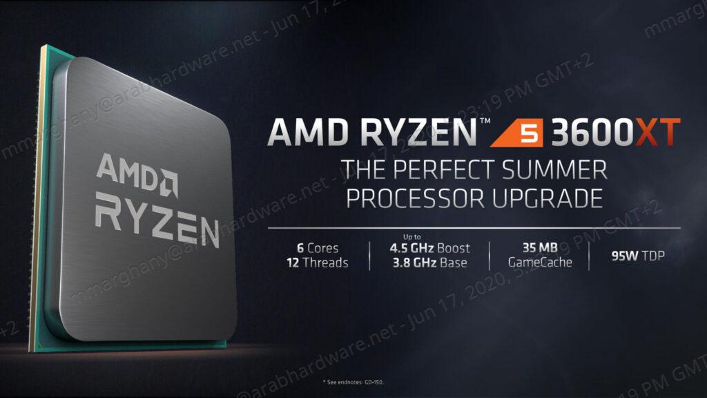 AMD Ryzen 3000XT Processors Press Deck V14 1920x1080 1 1024x576 - معالجات الجيل العاشر من إنتل أم الثالث بنسخ XT من AMD؟