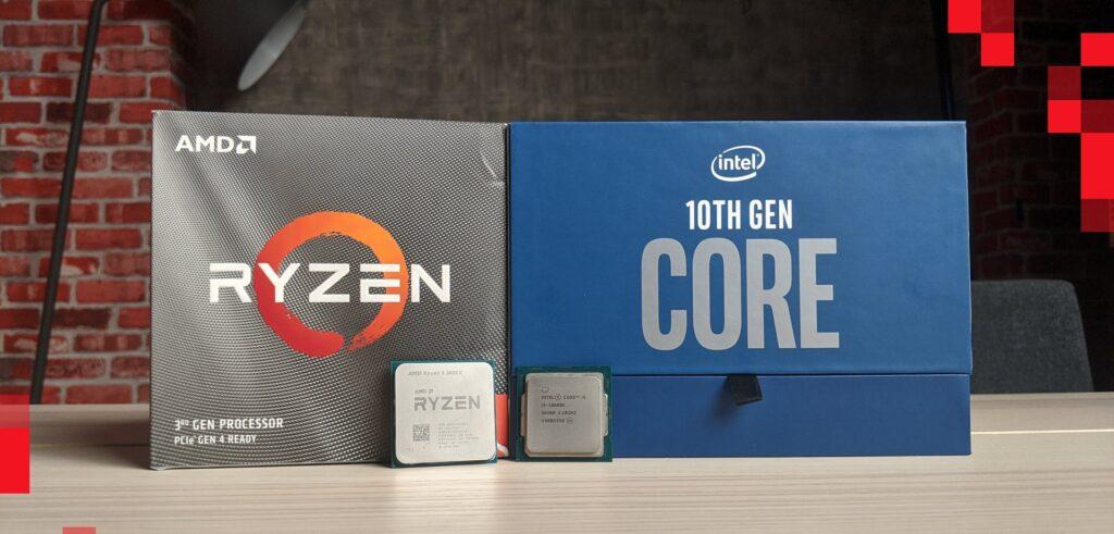 Intel Core i5 10600K VS 3600X e1601070199262 1024x491 - معالجات الجيل العاشر من إنتل أم الثالث بنسخ XT من AMD؟