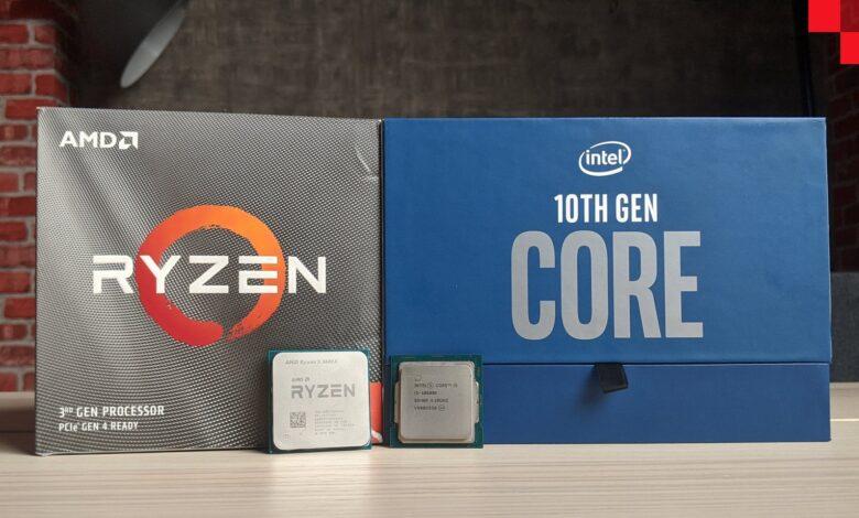 رويال رامبل المعالجات: الجيل العاشر من إنتل أم الثالث بنسخ XT من AMD؟