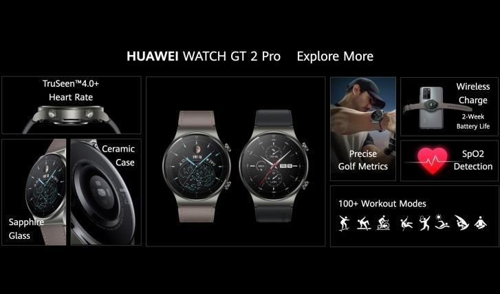 Watch GT2 Pro - هواوي تعلن رسمياً عن ساعة Watch GT2 Pro الذكية وسماعة FreeBuds Pro اللاسلكية